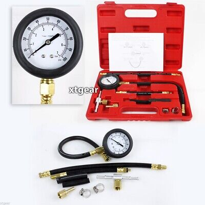 New Fuel Injection Pump Injector Tester Test Pressure Gauge Gasoline Cars Trucks