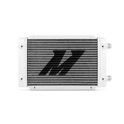 Mishimoto Universal 19 Row Dual Pass Oil Cooler - Silver