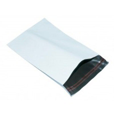 "25 White 9""x12"" Mailing Postage Postal Mail Bags"