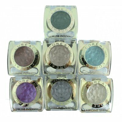 L'Oreal Color Appeal Chrome Intensity Shine Eye Shadow - Choose Your Colour