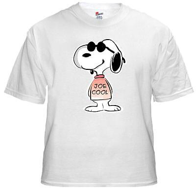 Tee Shirt New Unisex  featuring SNOOPY JOE COOL on quality cotton t-shirt