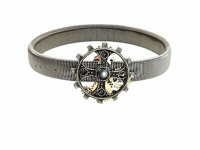 Alchemy Empire: Steampunk Foundryman's Ring Cross Pewter Sleeve Band BRAND NEW