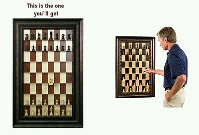 Straight Up Chess Board Set- Red Maple Home & Office Decoration Great Gift Idea!