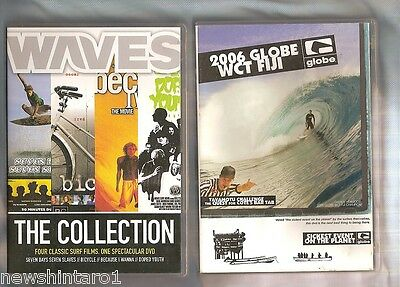 EIGHT  SURFING  RELATED DVDs