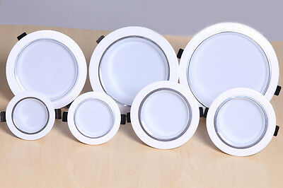 3W 5W 7W 9W 12W 15W 18W LED Ceiling light Recessed lamp Downlight Dimmable/Non