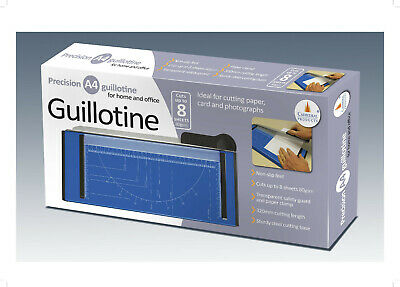 Cathedral A4 A5 Precision Photo Paper Guillotine Cutter Heavy Duty Metal