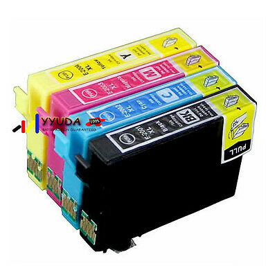10 Epson Generic Ink Cartridge T200XL for EPSON XP100 200 300 400 WF 2530 2540
