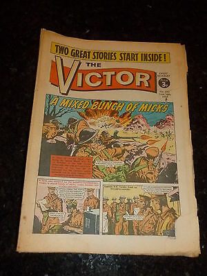 VICTOR Comic - Issue 643 - Date 16/06/1973 - UK Paper Comic