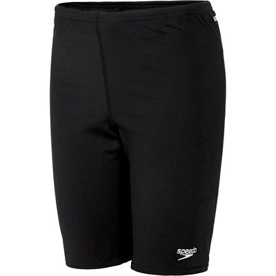 Speedo Jammer Jammers Boys BLACK  Endurance+ Swimming Swim Trunks Swimwear