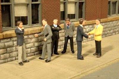 O SCALE Bachmann Businessmen Figures Scene Scapes