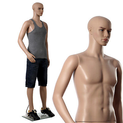 Songmics Full Body Mannequin Male Dummy Man Window Display Showcase MPGM19