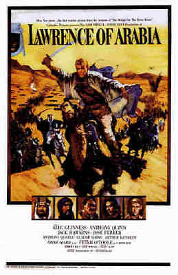 """LAWRENCE OF ARABIA"" (Peter O'Toole) - Full Size 40 x 27 Film Poster"