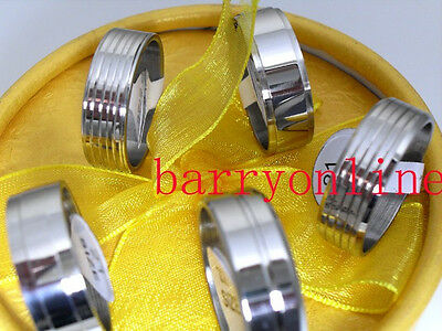 wholesale 25pcs mix design stainless steel rings  lots jewelry ring