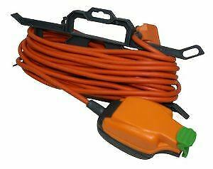 Masterplug 15m Weatherproof Outdoor Mains Extension Cable Lead IP54 Rated Socket