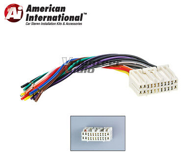 DODGE JEEP REVERSE Wiring Harness Car Stereo Install Plug ... on
