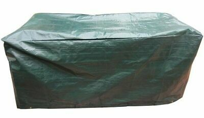 Durable Waterproof Green 5FT Small Rectangle Garden Table Protection Cover