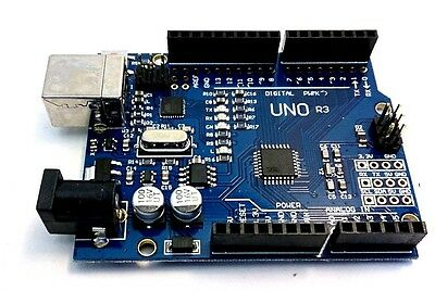 2012 Version Board ATmega328P UNO R3 ATmega16U2 & Free USB Cable for Arduino