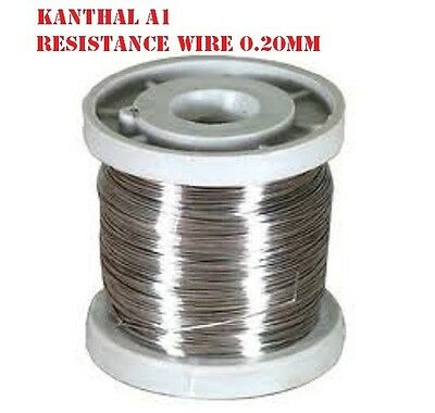 Kanthal A1 32AWG Resistance Wire 0.20mm for RBA 5 meter Coil Foam Cutting