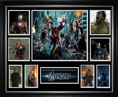 The Avengers Framed Memorabilia