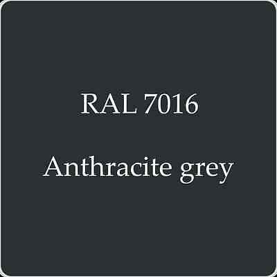 Ral 7016 High Quality German Paint   Anthracite Grey 2L With Free Strainer