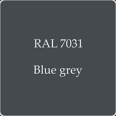 Ral 7031 High Quality German Paint   Blue Grey 2L With Free Strainer