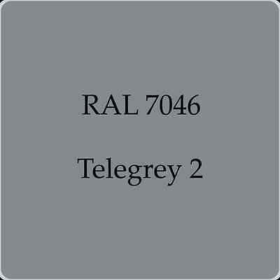 Ral 7046 High Quality German Paint   Telegrey 2 2L With Free Strainer