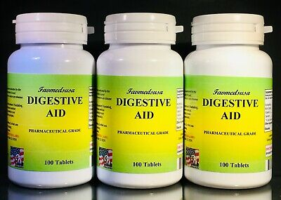Digestive Aid, Acidophilus, Mint extract, Made in USA - 300 (3x100) tablets