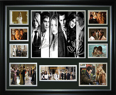 Gossip Girl Signed Framed Memorabilia