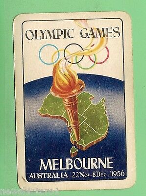 #d67.  Pack Of 1956  Melbourne  Olympics  Playing  Cards