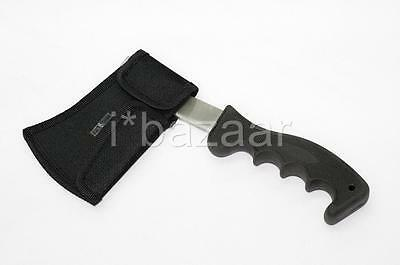STEEL CAMPING HAND AXE Camp Hatchet with NYLON Sheath