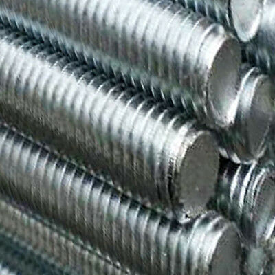 Threaded Bar Studding Threaded BAR / ROD ZINC PLATED-Sizes from M4 upto M20