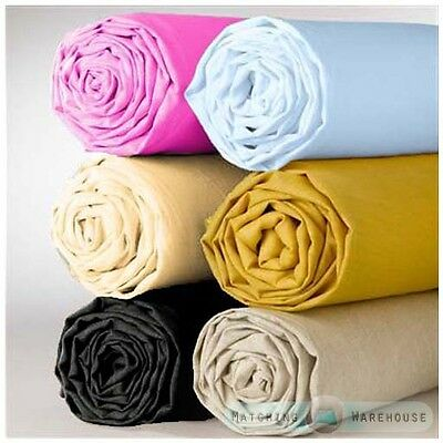 Supersoft Microfibre Fitted Sheets or Pillowcases Bedding Bed Linen High Quality
