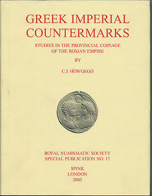 Greek Imperial Countermarks By C J Howgego