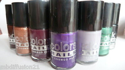 Vernis A Ongles - (15Ml) - Longue Tenue - Colors Nails -  Cosmod