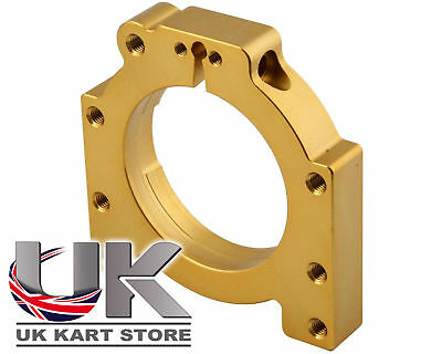 Italian Adjustable Bearing Carrier 50mm x 90mm for Kart Axles - Top Quality