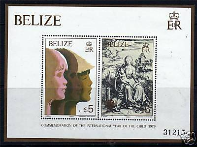 Belize 1980 International Year of the Child MS 558 MNH