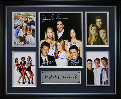 Friends Signed Framed Memorabilia