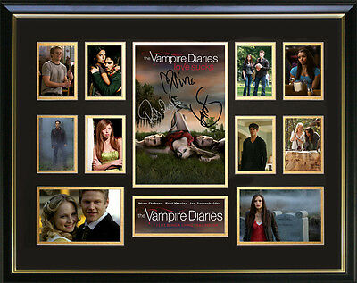 The Vampire Diaries Framed Memorabilia