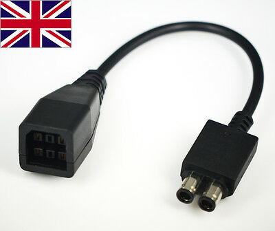 For Xbox 360 Slim to Fat Power Supply Converter AC Adapter Cable Lead Brand New
