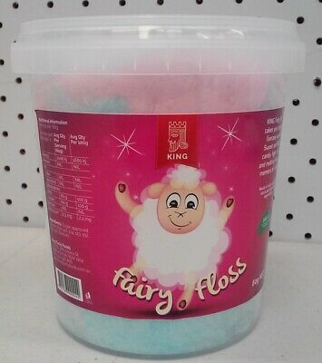 Pink & Blue Fairy Floss 60 g