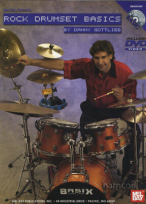 Rock Drumset Basics Drum Chart/DVD by Danny Gottlieb