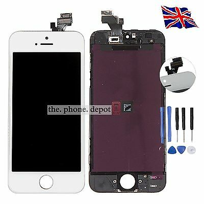 Complete Replacement For iPhone 5 LCD Touch Screen & Digitizer Display Assembly