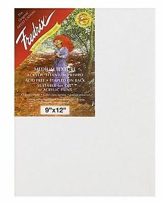 Fredrix - Red Label Blank Canvas - Double Primed - For Oil And Acrylic Painting