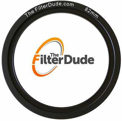 FilterDude 82mm LEE Compatible Wide Angle Adapter Ring for Filter Holder