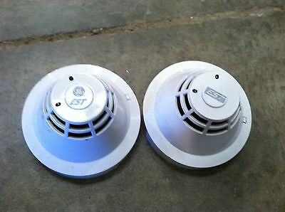 Pair of EST  Intelligent Heat Detector with Base