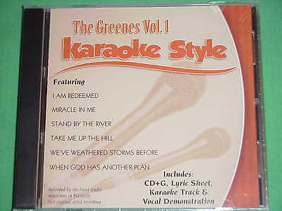 The Greenes~#1~Christian~Daywind~Karaoke Style~~~Take Me Up the Hill~~~CD+G~New