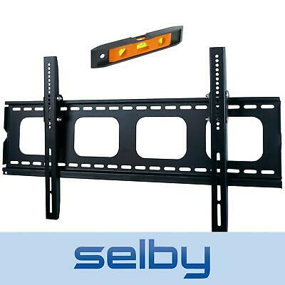 "50-75"" Inch 100kg Universal LED LCD Plasma TV Tilt Wall Mount Bracket Black"