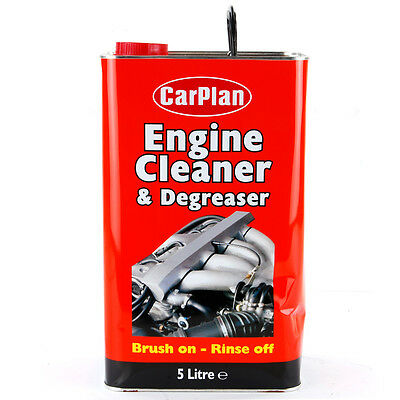 CarPlan Tetroclean Engine Cleaner And Degreaser 5 Litre 5L Water Washable Car