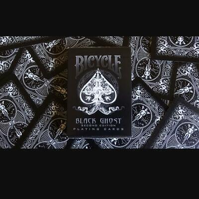 Svengali Black Ghost Bicycle Deck 2Nd Edition Playing Cards Gaff Magic Tricks