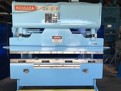 55 Ton x 8' Niagara Power Press Brake Sheet Metal Former Bender